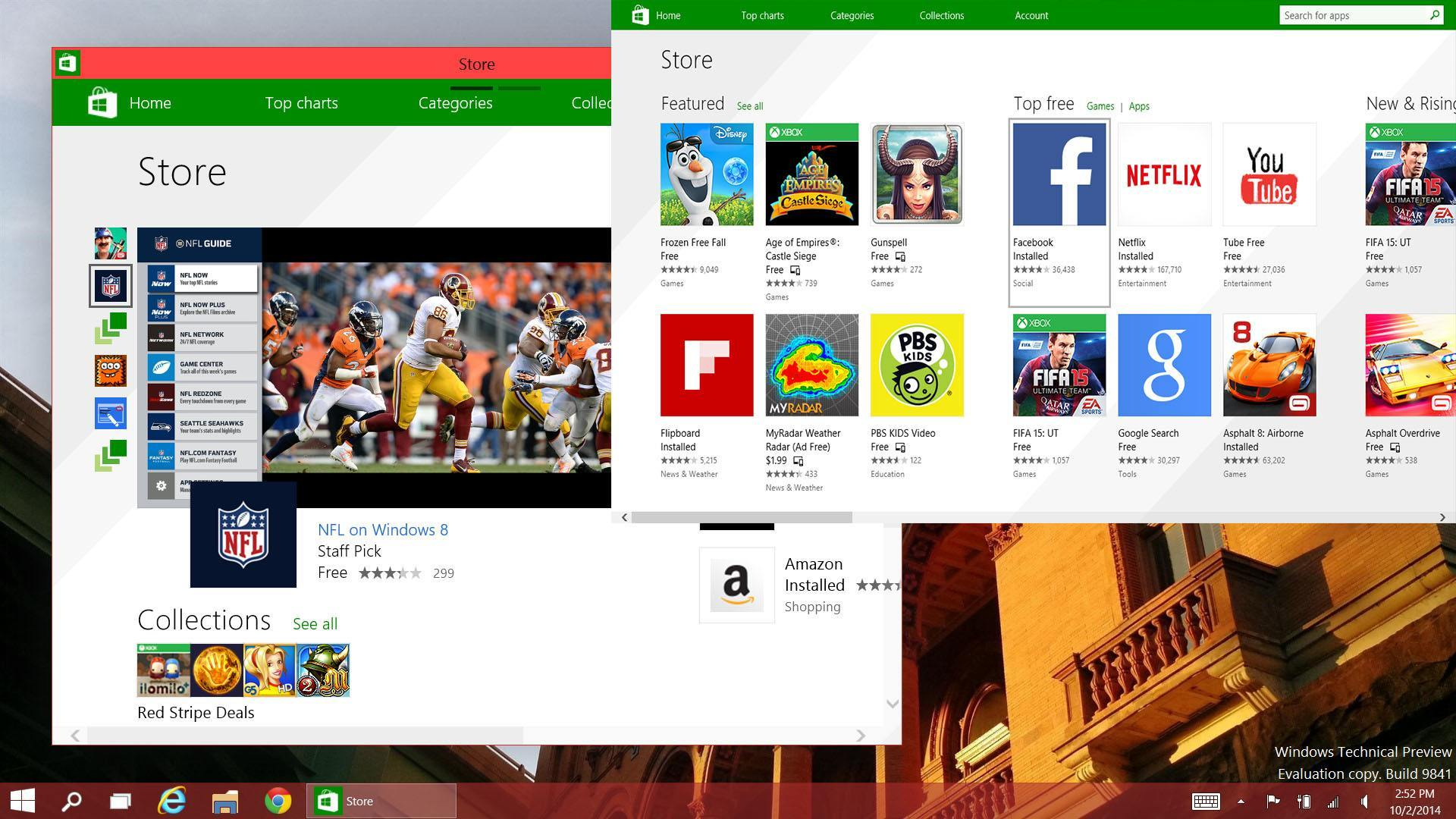 new microsoft windows 10 store aims to unify pc apps and