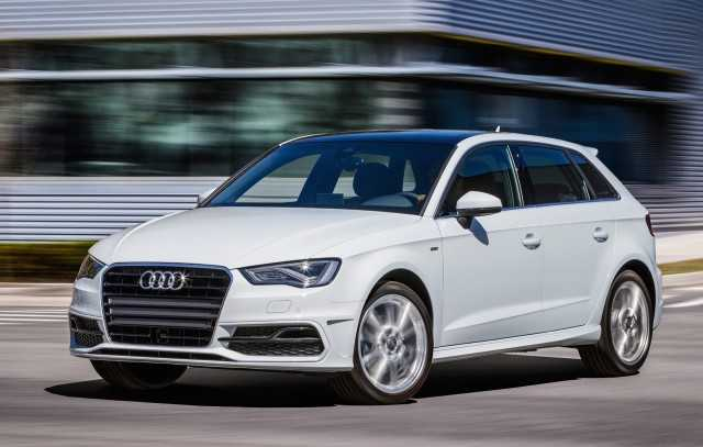 Audi S First Electrified Car 2016 A3 E Tron Arrives In Us October For 37 000