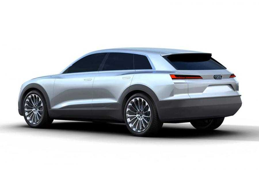 Tesla Model X's Competitor, Audi Q6 Concept Art Leaked Before ...