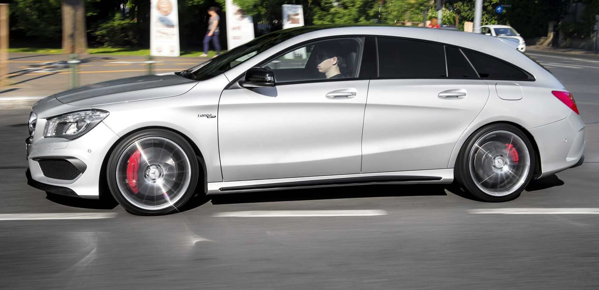 2016 mercedes benz cla shooting brake exposed in new spy shots. Black Bedroom Furniture Sets. Home Design Ideas