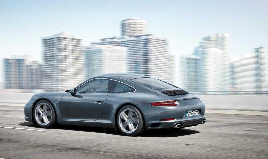 2017 porsche 911 carrera gets all wheel drive boost for. Black Bedroom Furniture Sets. Home Design Ideas