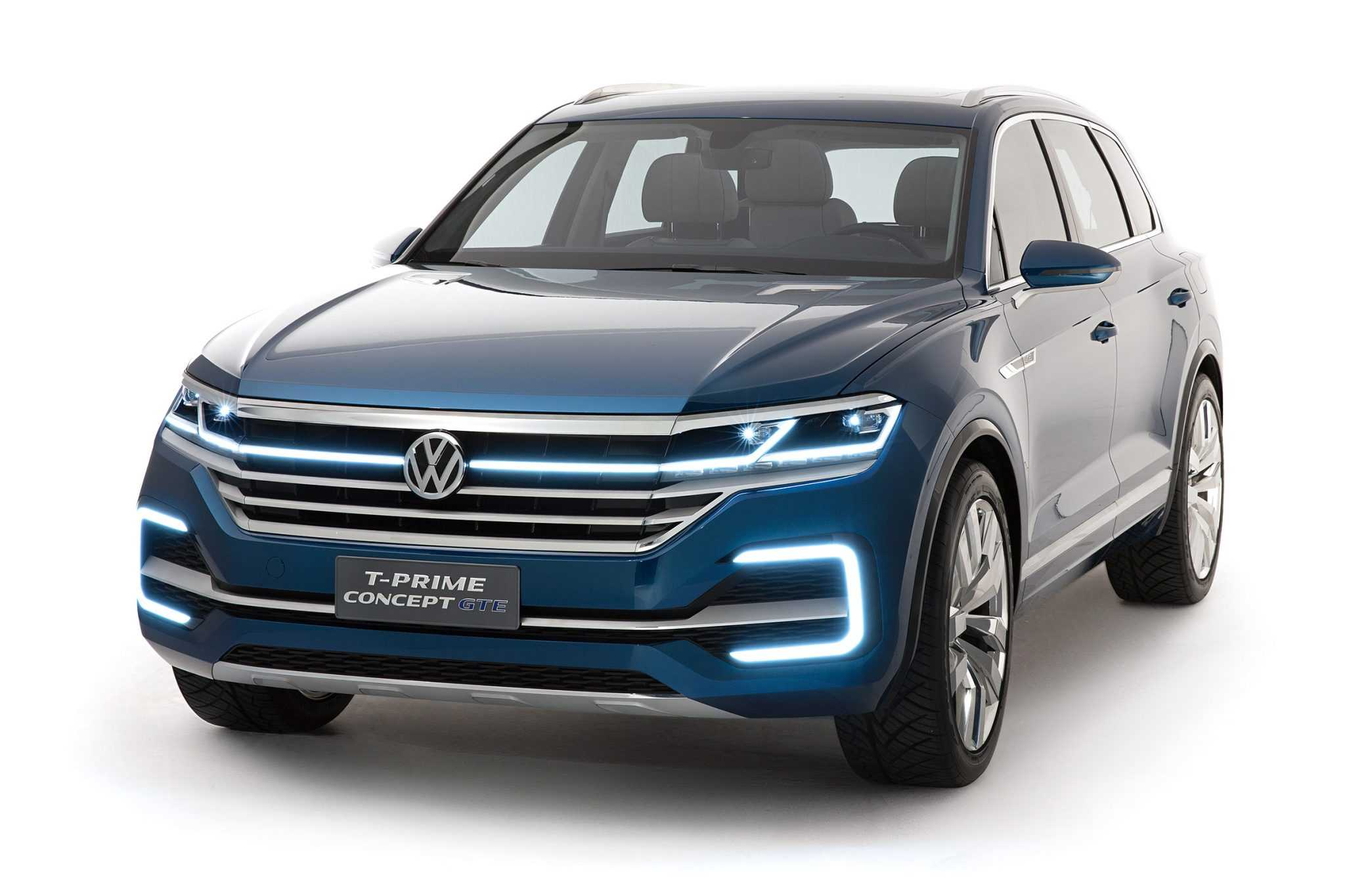 2017 volkswagen touareg gets refreshed with t prime concept. Black Bedroom Furniture Sets. Home Design Ideas