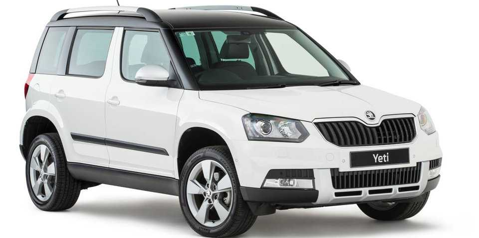 2017 skoda yeti pricing specs and trimlines announced. Black Bedroom Furniture Sets. Home Design Ideas
