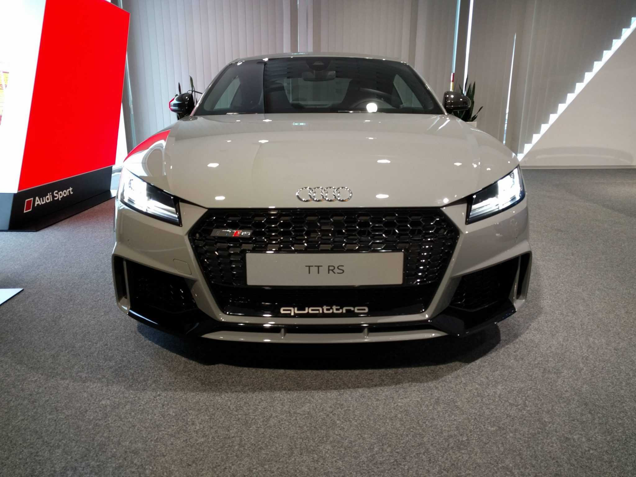 2018 audi tt rs nardo grey variant picture revealed in. Black Bedroom Furniture Sets. Home Design Ideas